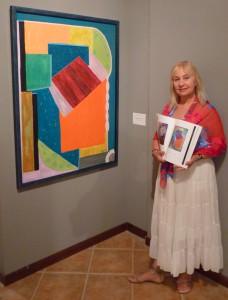 Johanna Engdahl, an artist at Chianciano Biennale 2013