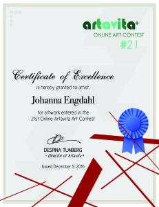 artavita-contest21-certificate-johanna-engdahl