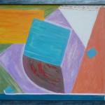 Johanna Engdahl. Opportunities in colour. Akrylic on linen canvas, 74 X 63 cm, 2013