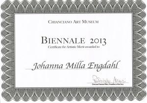 Ch.Biennale 2013-certificate2